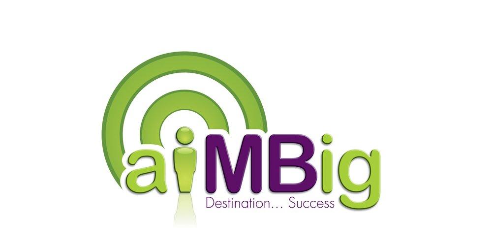 AimBig logo design