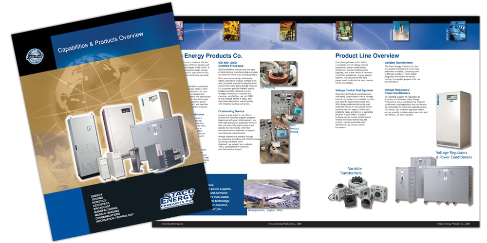 Staco Industries Product Brochure