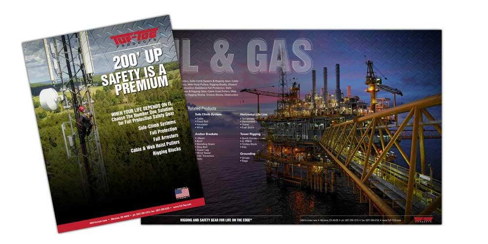 TUF-TUG Products Company Brochure   Print Collateral